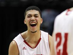 Wisconsin beat Indiana 79-71 Thursday in the Big Ten tournament. Rob Wilson scored 30 points.