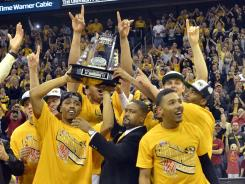 In its final year in the Big 12, Missouri claimed its second conference title in four years.