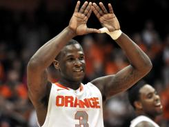 Dion Waiters and the Syracuse Orange are among the No. 1 seeds for the 2012 NCAA tournament.