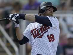 Minnesota Twins catcher Ryan Doumit is a solid bet to outproduce his draft position.
