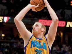 Chris Kaman scored a team-high 20 points to help the Hornets snap a four-game slide.