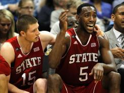 Did N.C. State lose its spot when an at-large bid was stolen by St. Bonaventure on Sunday?