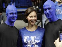 Actress Ashley Judd remains a huge Kentucky basketball fan.