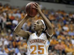 Tennessee will lean heavily on SEC Player of the Year Glory Johnson.