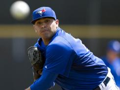 Ricky Romero is the projected opening day starter for the Blue Jays.