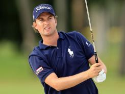 Webb Simpson of the USA climbed from 208th in the World Golf Rankings at the start of last year to sixth last week (he's No. 8 in this week's rankings).