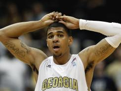Glen Rice Jr., son of the former NBA star, led Georgia Tech in scoring and rebounding this season but already was serving his third suspension at the time of the incident, in which a gun was allegedly fired accidentally.