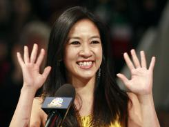 Michelle Kwan was inducted into the U.S. Figure Skating Hall of Fame during the 2012 national championships, Jan. 28, in San Jose, Calif.