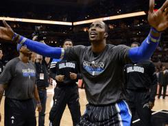 Orlando center Dwight Howard lost perhaps his last game with the Magic Wednesday night to the San Antonio Spurs.