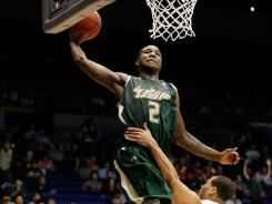 Victor Rudd Jr. led South Florida with 15 points in its 65-54 opening-round victory over California in the NCAA tournament on Wednesday night at Dayton, Ohio.