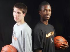 Doug McDermott, left, and Harrison Barnes as high schoolers in 2009.