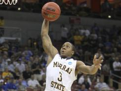 Murray State's Isaiah Canaan has led his team into the next round of the NCAA tournament against Marquette.