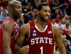 Richard Howell led North Carolina State with points as the Wolfpack advanced to the third round.