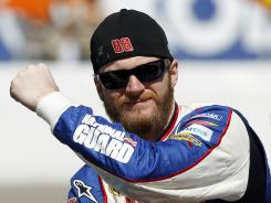 "Dale Earnhardt Jr. said of fuel-injection data sharing: ""I think it is a slippery slope."""