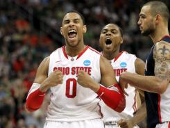 Jared Sullinger scored 18 points for Ohio State in Saturday's game.
