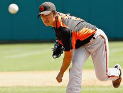 Tsuyoshi Wada signed to an $8.15 million, two-year contract with the Orioles over the winter.