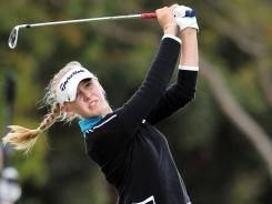 Jessica Korda returns to action this week at the Kia Classic in Carlsbad, Calif. Korda, 19, earned her LPGA win in the tour's season-opening event, the Women's Australian Open in Melbourne.