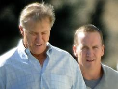 Peyton Manning will apparently be working for the Denver Broncos and John Elway.