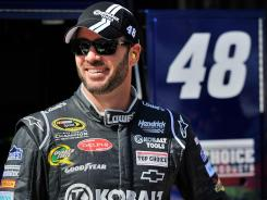 Jimmie Johnson's 25-point penalty was overturned, a happy development for the five-time champion that moved him from 17th to 11th in points.