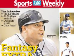 Available Wednesday, USA TODAY Sports Weekly's annual Fantasy Extra issue has everything fantasy owners need to get ready for draft day.