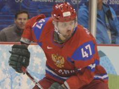 Alexander Radulov, playing in the 2010 Olympics, has been around the block internationally and has performed well in big games.