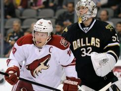 Phoenix winger Shane Doan could face a hearing for his elbow to the head of Dallas' Jamie Benn.