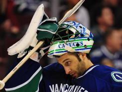 Vancouver Canucks goaltender Roberto Luongo has been slumping recently.