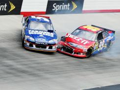 Kasey Kahne's No. 5 Chevrolet has had an abysmal start to the Sprint Cup season. Not much better has been Carl Edwards, who is 15th in points. Both drivers crashed early in last Sunday's race at Bristol Motor Speedway.