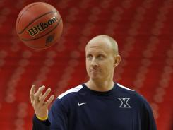 Xavier coach Chris Mack hopes his team can get off the list of top programs who have never made the Final Four.