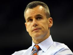 Florida coach Billy Donovan is pictured here during the round of 32.