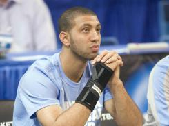 Kendall Marshall said after a limited workout Saturday that his broken wrist has gotten stronger every day since surgery Monday.
