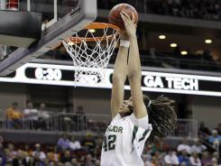 The dunk by Baylor's Brittney Griner punctuated a 35-point day.