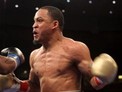 James Kirkland, shown in a March 2011 fight, won Saturday night in a controversial ending.