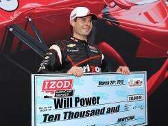 Will Power ran a track-record lap to capture his 25th career IndyCar pole.