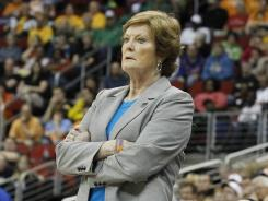 Pat Summitt has won 1,098 games in 38 seasons at Tennessee, including eight national titles, the last of which came in 2008.