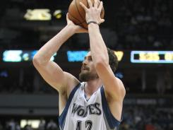 Kevin Love's 30 points and 21 rebounds helped the T'wolves snap a two-game skid.