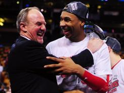 Thad Matta, left, threw Jared Sullinger and the rest of the Buckeyes out of practice one day in February. Ohio State responded with a Final Four run.