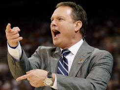 Kansas and coach Bill Self are among a Final Four group of basketball royalty.