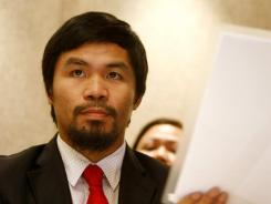 Manny Pacquiao said he has never shortchanged the Philippine government.