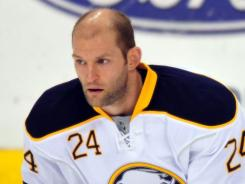 Buffalo Sabres defenseman Robyn Regehr says, &quot;There's just so much on the line&quot; in Tuesday's game vs. the Washington Capitals.