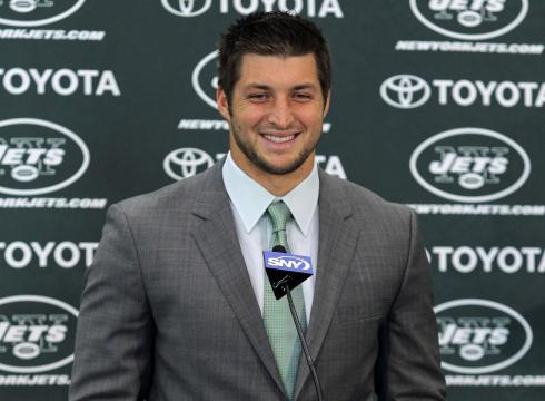 Tebow Press Conference Tim Tebow Told The Press