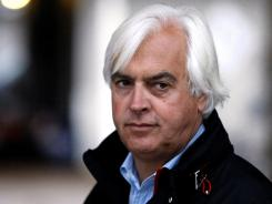 Hall of Fame trainer Bob Baffert, a three-time Kentucky Derby winner, suffered a heart attack early Monday in Dubai where he was preparing to run Game On Dude in the $10 million Dubai World Cup.