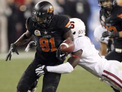 Oklahoma State beat Stanford in the 2012 Fiesta Bowl last January.