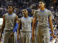 The Kentucky Wildcats could put several players into the first round of the NBA draft.
