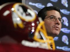 Owner Dan Snyder's Redskins will lose $36 million in salary cap space over the 2012 and 2013 seasons.