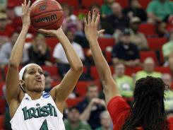 Skylar Diggins' triple-double was the first in the NCAA women's tournament since 2005.