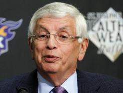 At a press conference prior to the Suns-Spurs game on Tuesday, NBA Commissioner David Stern said, all things considered, it's been a surprisingly good season.