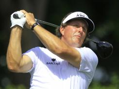 Phil Mickelson is the defending champion this week at the Shell Houston Open.