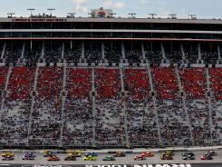 Bristol Motor Speedway, which seats 160,000, might have been half full for the Sprint Cup race on March 18.