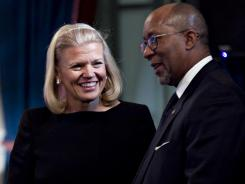 """Is Virginia """"Ginni"""" Rometty, chief executive officer of IBM ready to don the green jacket?"""